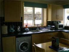 Inside the Isle of Skye self catering cottage Cnoc na Loch