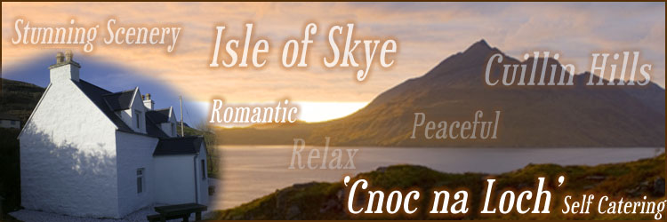 Isle of Skye holiday cottage in Elgol